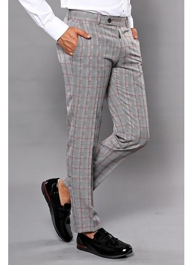 Wessi Klasik Pantolon Gri